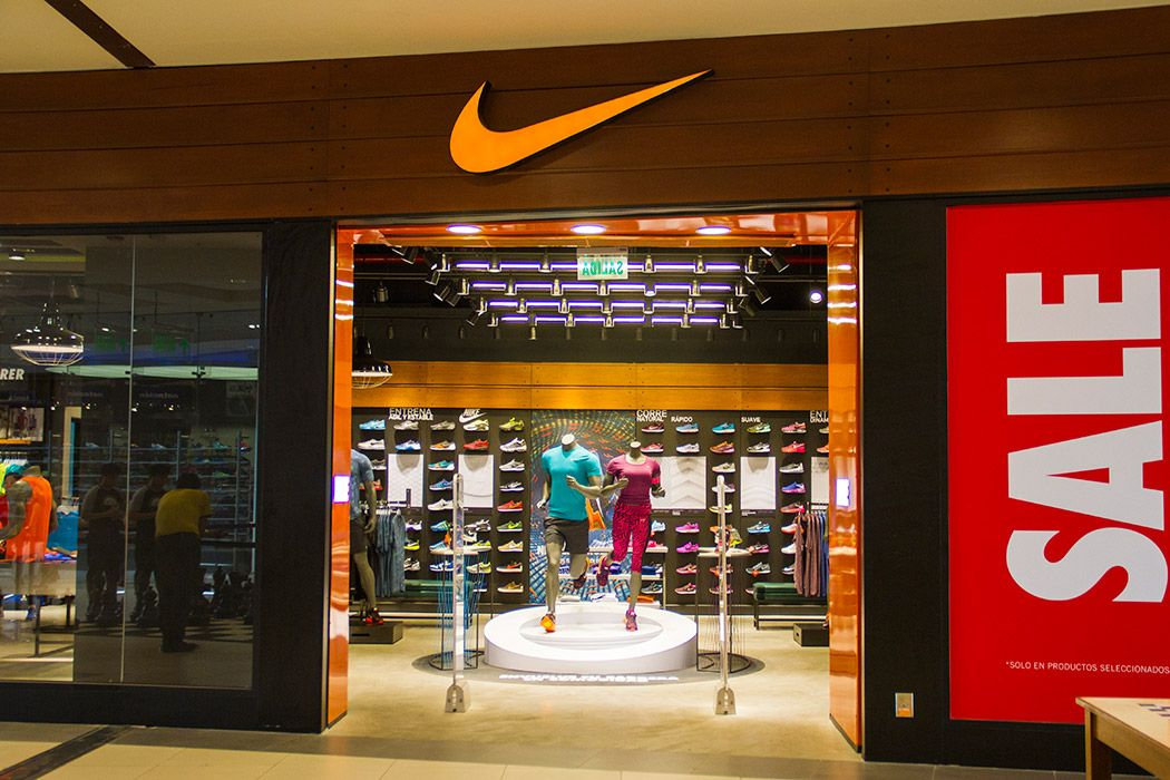 nike sucursales