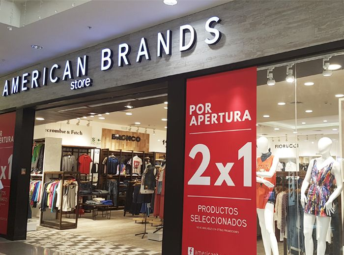 AMERICAN BRANDS  - Plaza Norte