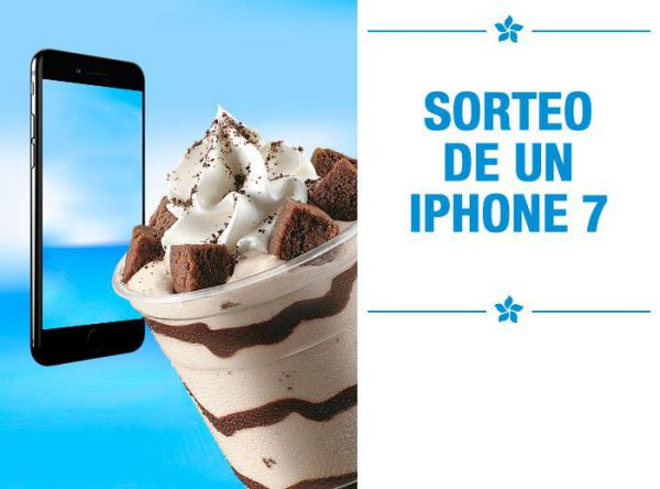GELARTI SORTEA UN IPHONE 7 - Plaza Norte