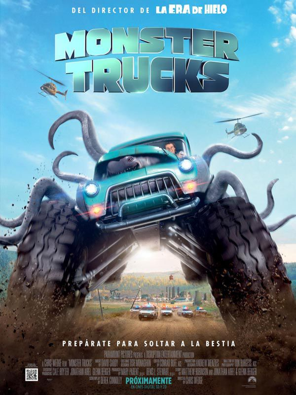 Monster Trucks - Plaza Norte