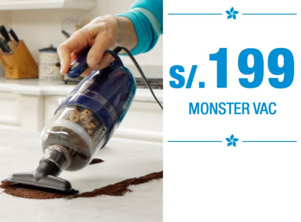 Monster Vac en oferta - QUALITY STORE - Plaza Norte