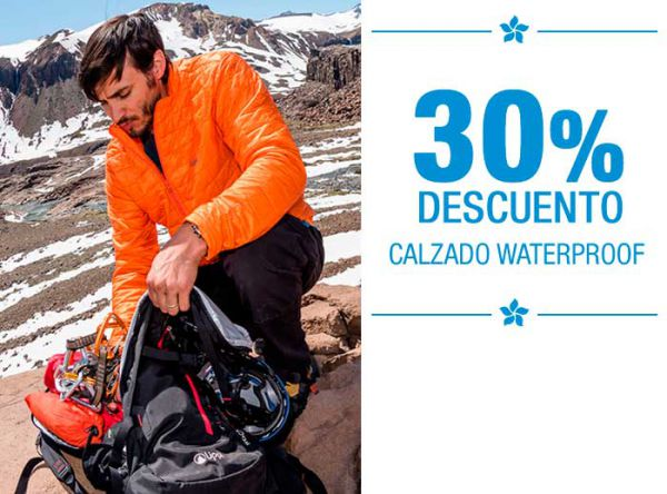 CALZADO WATERPROOF EN OFERTA - Plaza Norte