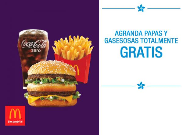 Promoción Mc Donald's Única - Plaza Norte