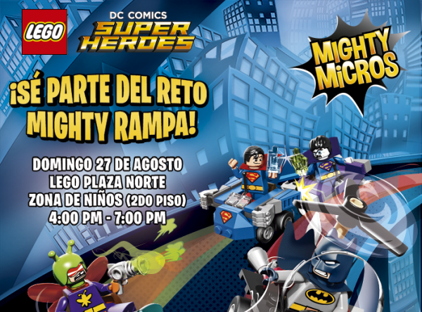 Mighty Rampa de Lego - Plaza Norte