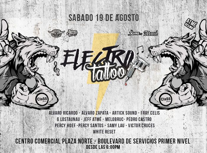 Electro Tattoo Coyote - Plaza Norte