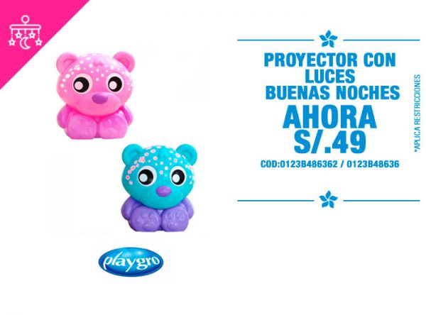 Proyector con luces a S/ 49 - Plaza Norte