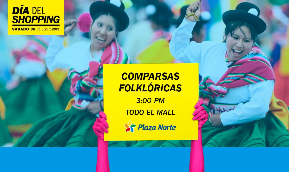 Comparsas Folckloricas - Día del Shopping - Plaza Norte