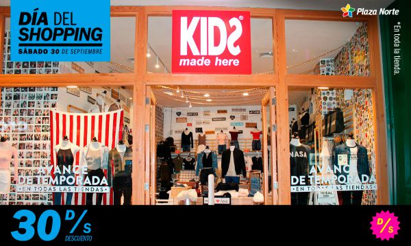 Día del Shopping  - KIDS MADE HERE - Plaza Norte