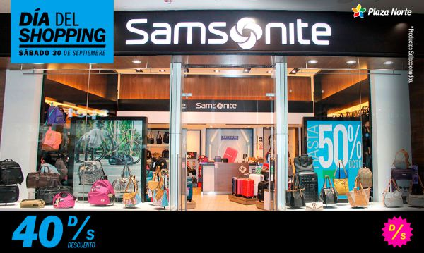 Día del Shopping  Samsonite - Plaza Norte