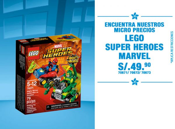 LEGO MARVEL S/. 49.90 - Plaza Norte