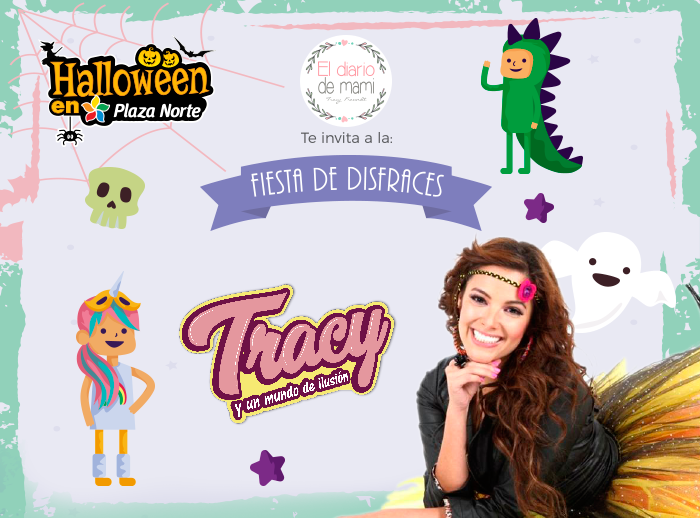 Fiesta de disfraces con Tracy Freund - Plaza Norte