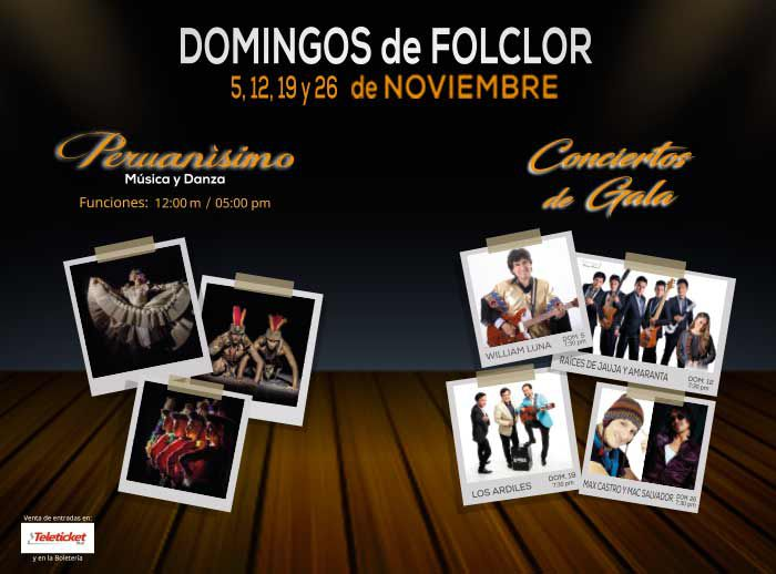 Domingos de Folclor  - Plaza Norte