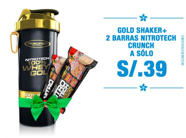 Gold Shaker pack a S/.39 LAB NUTRITION - Plaza Norte