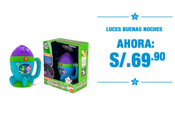 LUCES BUENAS NOCHES. S/ 69.00 - Baby Infanti Store - Plaza Norte