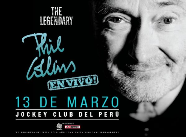 Concurso Phil Collins - Plaza Norte