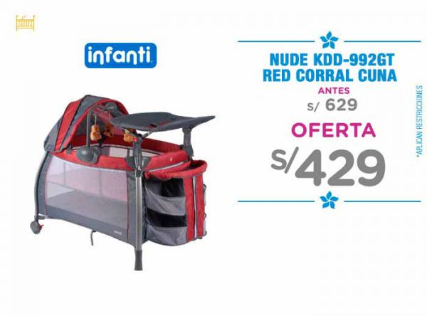 CORRAL CUNA RED Baby Infanti Store - Plaza Norte