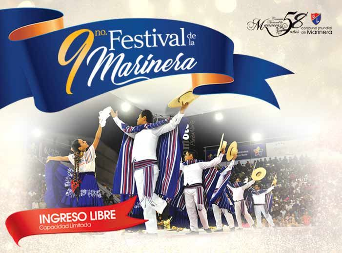 9no Festival de la Marinera - Plaza Norte