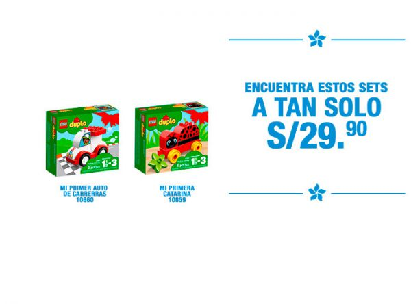 Sets a S/ 29.90 Lego - Plaza Norte