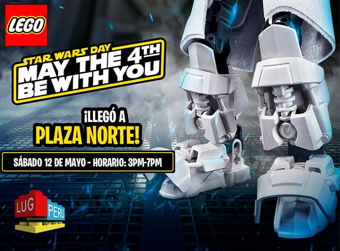 Día de Star Wars en Lego - Plaza Norte