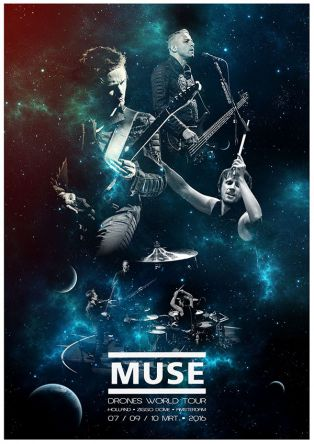 Muse - Drones World Tour - Plaza Norte