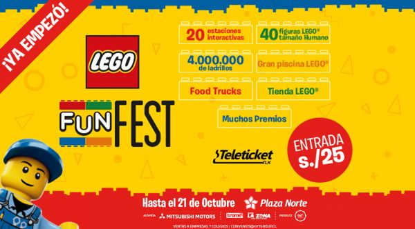 LEGO FUN FEST PERÚ - Plaza Norte