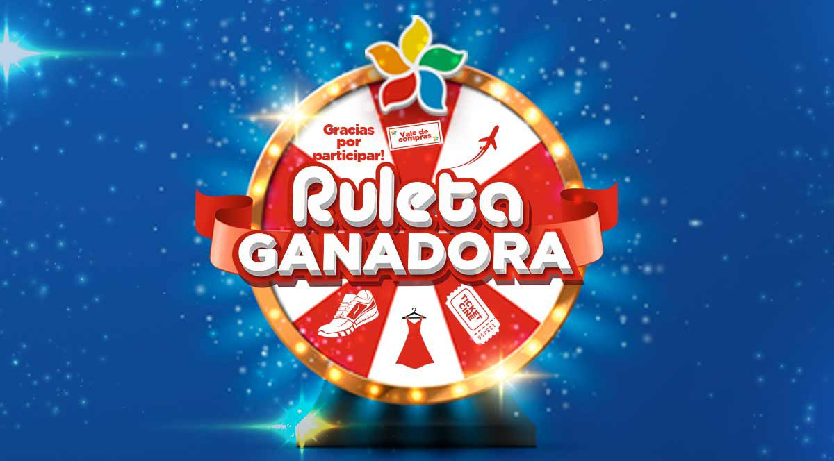 Ruleta Ganadora - Plaza Norte