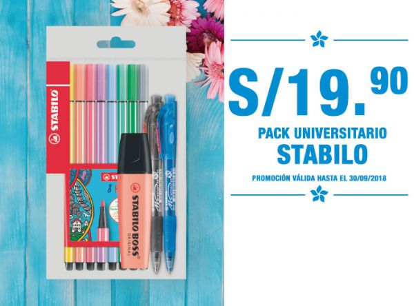 Pack Stabilo a S/19.90 - Plaza Norte