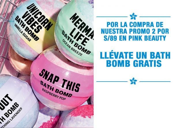 LLÉVATE UN BATH BOMB GRATIS  - Victoria Secret - Plaza Norte