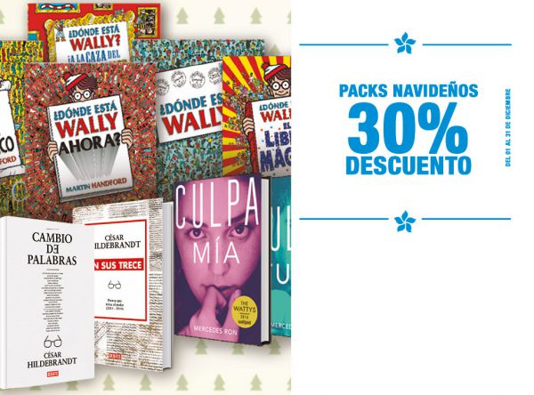 30% de dscto en Packs - Plaza Norte