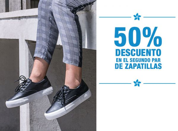 50% DCTO. EN EL 2DO PAR - Passarela - Plaza Norte