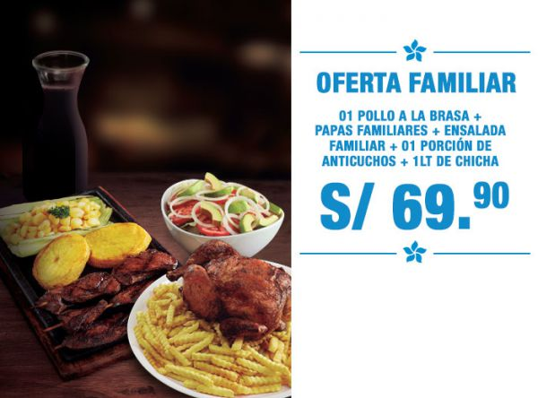OFERTA FAMILIAR A S/69.90 - Mediterráneo - Plaza Norte
