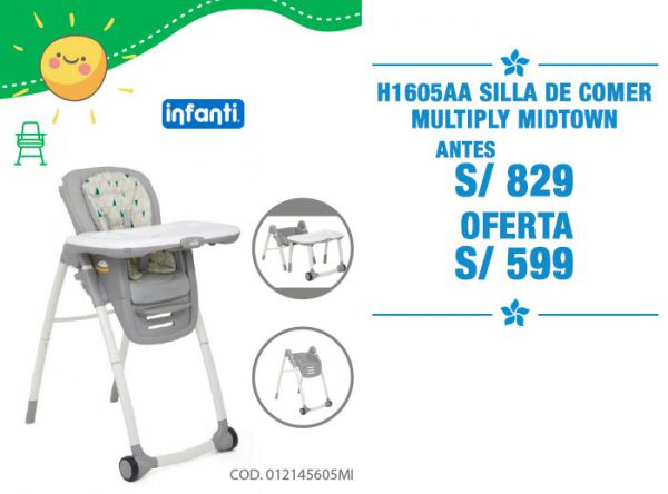 SILLA DE COMER MULTIPLY-S/599 - Plaza Norte