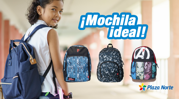 "TIPS PARA UNA ""MOCHILA IDEAL"" - Plaza Norte"