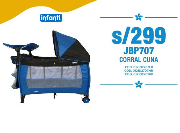 S/299 JBP707 CORRAL CUNA Baby Infanti Store - Plaza Norte
