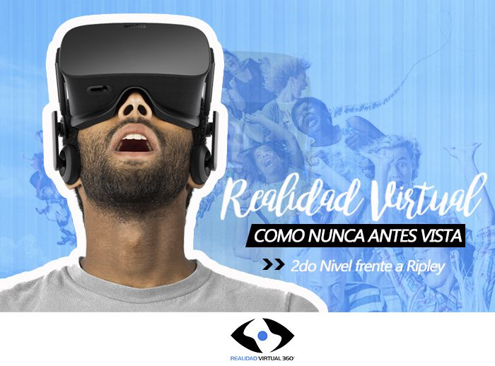 Realidad Virtual como nunca antes vista  - Plaza Norte