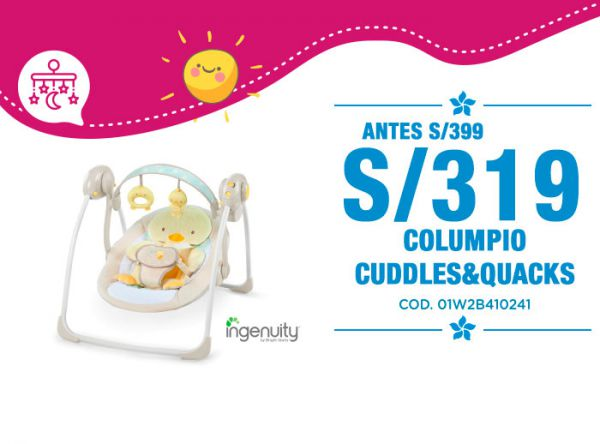 COLUMPIO CUDDLES/QUACKS S/319 - Plaza Norte