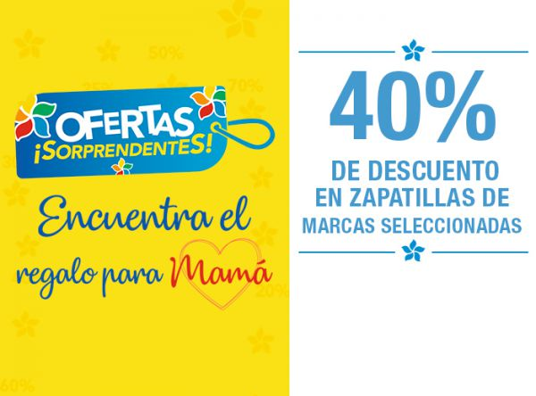 OFERTAS SORPRENDENTES MAMÁ Top Model - Plaza Norte