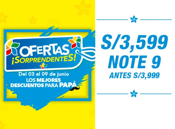 S/3,599 NOTE 9-ANTES S/3,999 - Plaza Norte