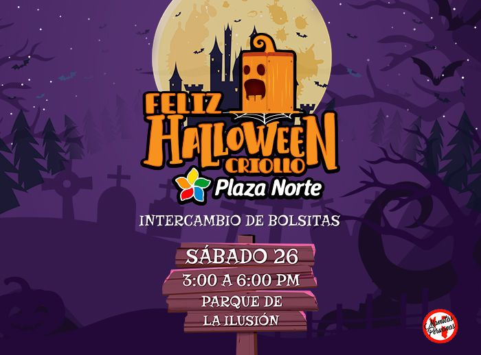 INTERCAMBIO DE BOLSITAS - HALLOWEEN  - Plaza Norte