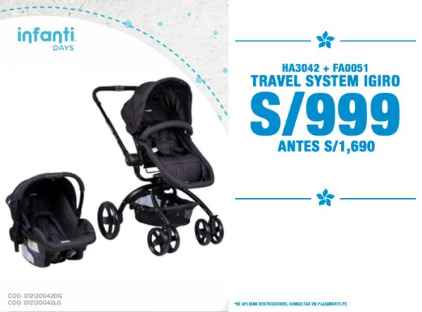 TRAVEL SYSTEM IGIRO A S/999 - Plaza Norte