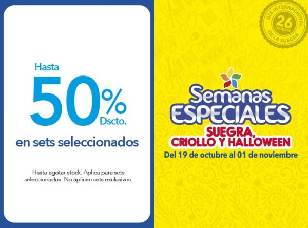 HASTA 50%DSCTO EN SETS SELECC - Plaza Norte