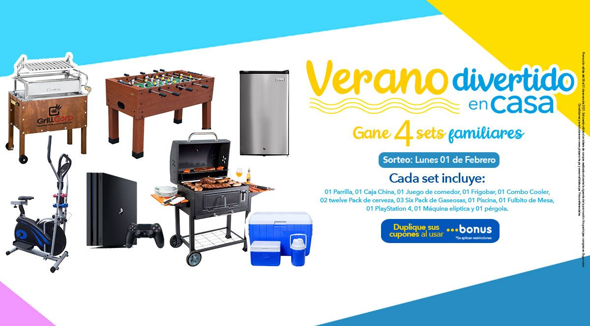 """Verano divertido en casa"" en Plaza Norte y Mall del Sur - Plaza Norte"
