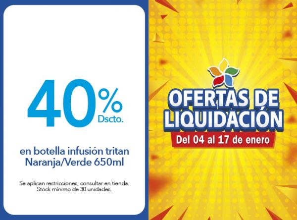 40% DSCTO BOTELLA INFUSIÓN - Lock & Lock - Plaza Norte