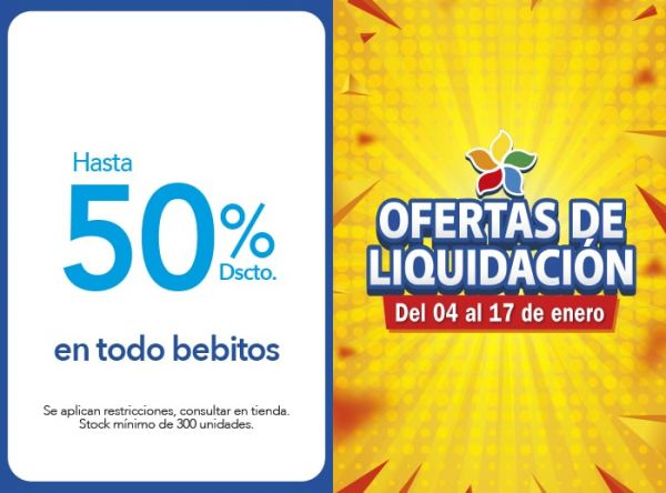 HASTA 50% DSCTO TODO BEBITOS - Plaza Norte