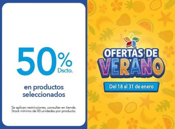 50% DSCTO. EN PRODUCTOS SELEC WIN FITNESS WEAR - Plaza Norte