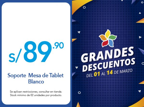 SOPORTE DE TABLET A S/89.90 - USAMS - Plaza Norte