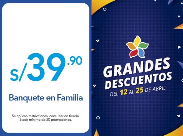 BANQUETE EN FAMILIA A S/39.90 - China Wok - Plaza Norte