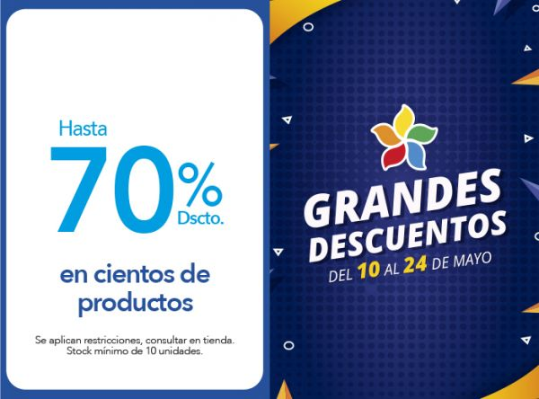 HASTA 70% DSCTO. EN CIENTOS DE PRODUCTOS THE CULT - Plaza Norte
