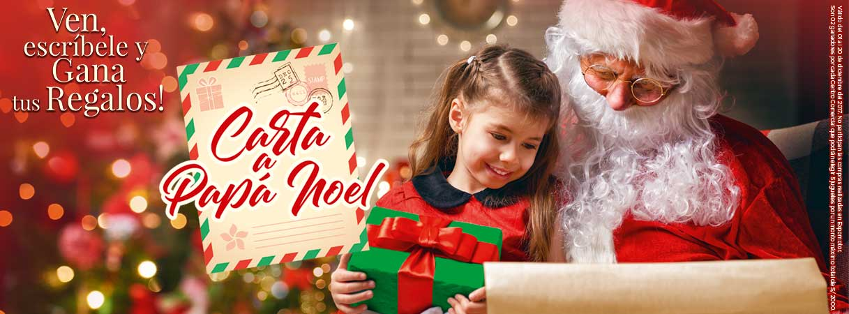 Carta de Papa Noel - Plaza Norte