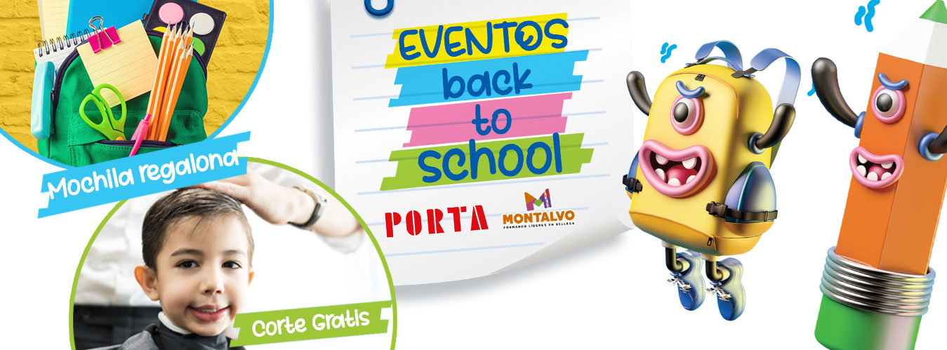 BANNER BACK TO SCHOOL - Plaza Norte
